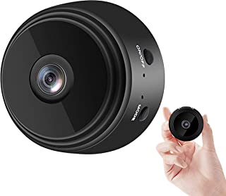 Wingfulrun Mini WiFi Camera Wireless Security Cam 1080P Surveillance Cameras Tiny Video Recorder with Phone App Live Feed,...