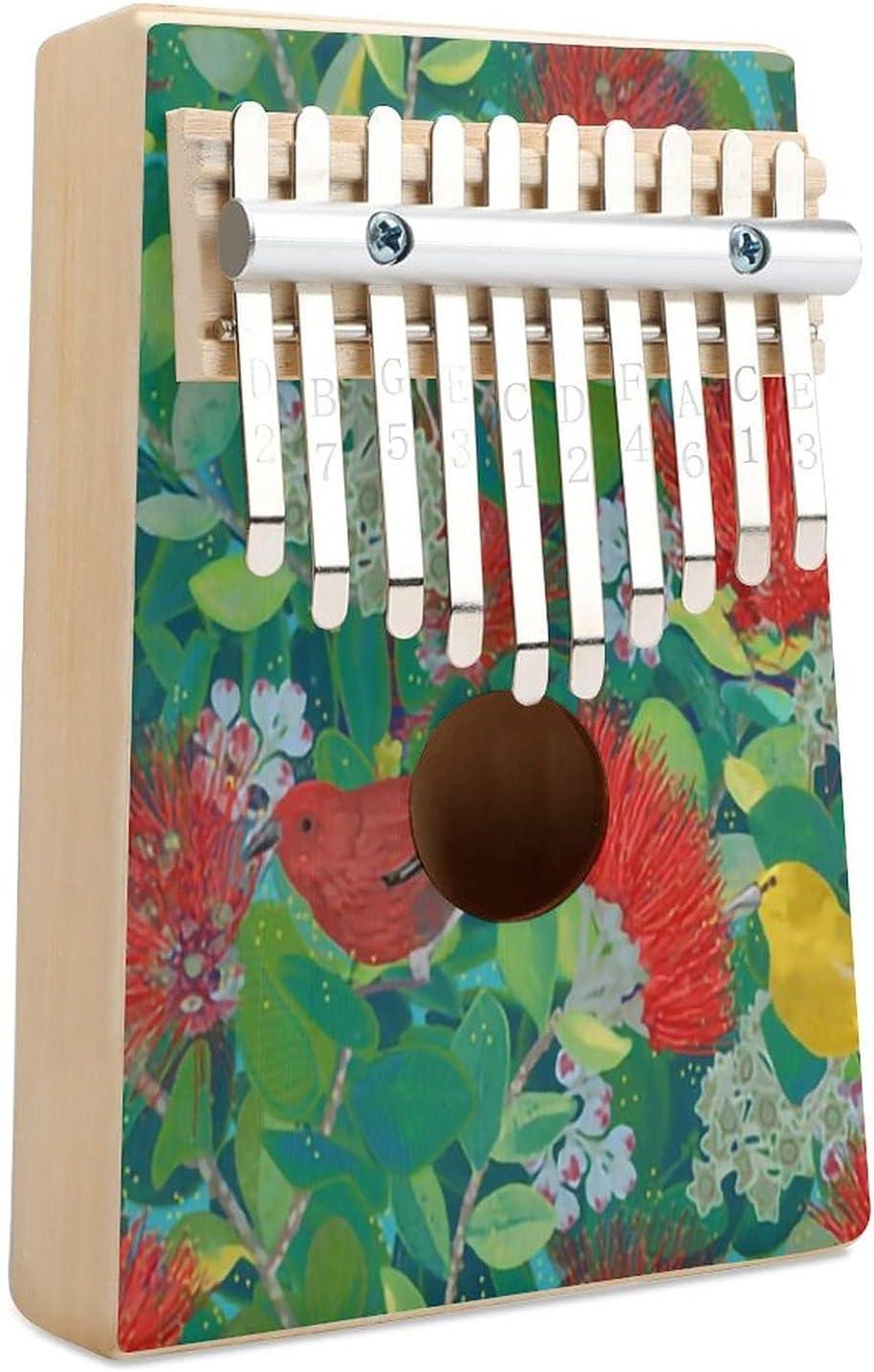 Ohia Life Kalimba Sales results Quantity limited No. 1 Thumb Piano Musical Key 10 Instru Finger