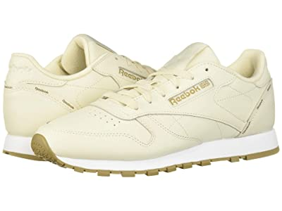 Reebok Lifestyle Classic Leather (Alabaster/Thatch/White) Women
