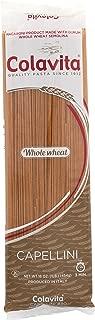 Colavita Whole Wheat Capellini, 16-Ounce Bags (Pack of 20)