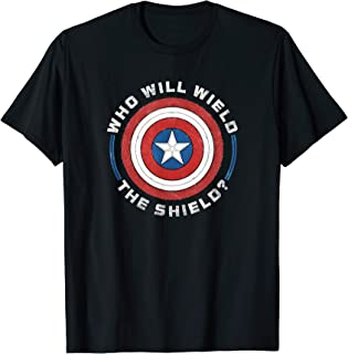 Marvel The Falcon and the Winter Soldier Wield the Shield T-Shirt