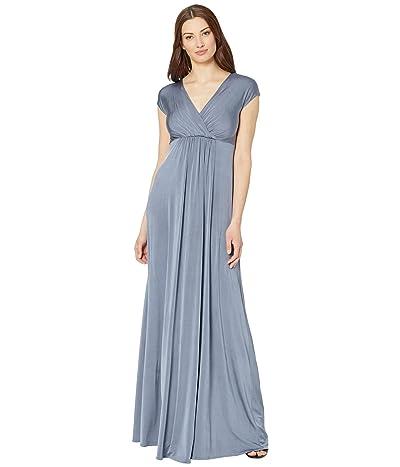 Tiffany Rose Francesca Maternity Maxi Dress (Steel Blue) Women