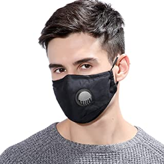 Simpson Dust Mask Reusable Anti Dust Unisex Mouth Face Mask, Filter Replacement Breathable Earloop Anti Smoke Pollution Po...