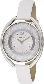 Swarovski Women's Quartz Watch, Analog Display and Leather Strap 5158548