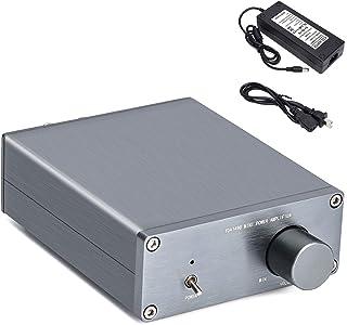 TDA7498E Stereo Audio Amplifier Car Audio Amplifier with Power Supply DC 24V 6A,160W x 160W Dual Channel Hi-Fi Amplifier, ...