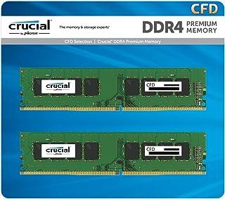 CFD販売 デスクトップPC用メモリ PC4-19200(DDR4-2400) 16GB×2枚 / 288pin / 無期限保証 / Crucial by Micron / W4U2400CM-16G
