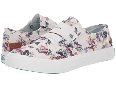 Blowfish Marley (Off-White Bella Print Canvas) Women