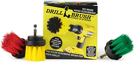 Kitchen Accessories - Drill Brush - Grout Cleaner - 2-inch Diameter Multi-purpose Spin Brush Kit - Garden Statues - Bird B...
