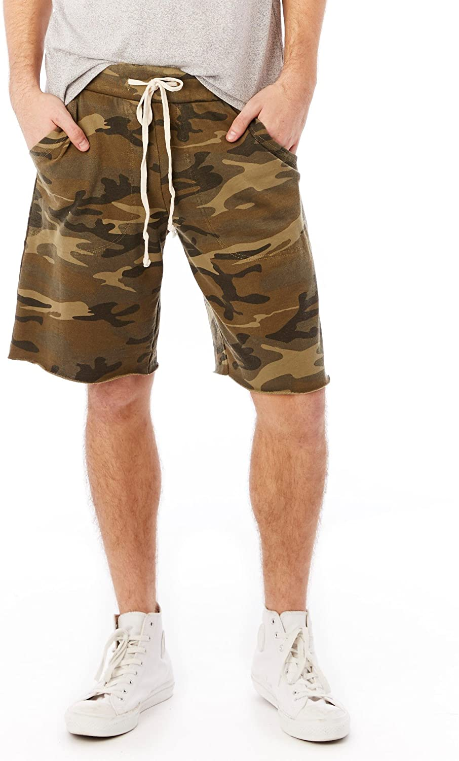 Alternative Men's Printed Light French Victory Free shipping on posting reviews Terry Special sale item Short