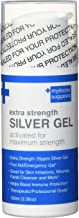 Colloidal Silver Gel Extra Strength - 35ppm Silver Minerals First Aid/Emergency Burns Gel, Wounds Gel, Facial Cleanser, and Immune Protection.