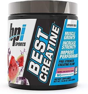 BPI Sports Best Creatine - Creatine Monohydrate, Himalayan Salt - Strength, Pump, Endurance, Muscle Growth, Muscle Definit...