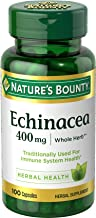 Nature's Bounty - Echinacea for Immune System Health 400 mg. - 100 Capsules