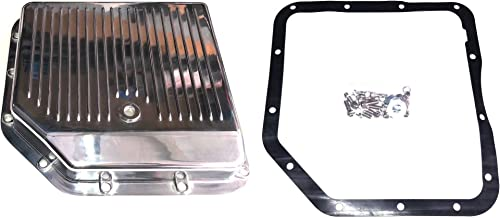 Chevy Polished Aluminum Turbo 350 Transmission Oil Pan Th-350 Th350 Trans