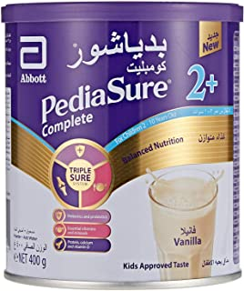 PEDIASURE COMPLETE AND BALANCE NUTRITION  VANILLA FLAVOUR FOR 2-10 YEARS OLD -  400G