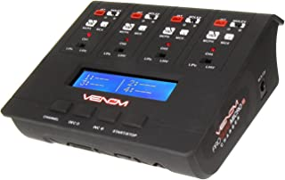 Venom Pro Quad Micro 1S 4 Channel AC/DC LiPo & LiHV Battery Charger