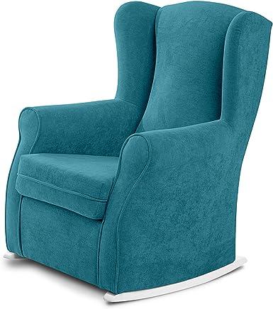 Amazon.es: sillones turquesa - Tela / Muebles: Hogar y cocina