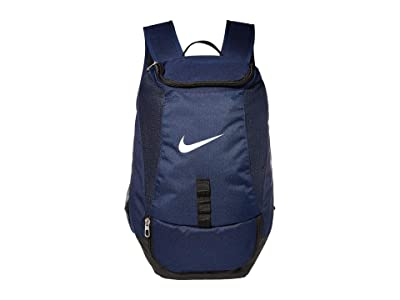 Nike Club Team Swoosh Backpack (Midnight Navy/Black/White) Backpack Bags