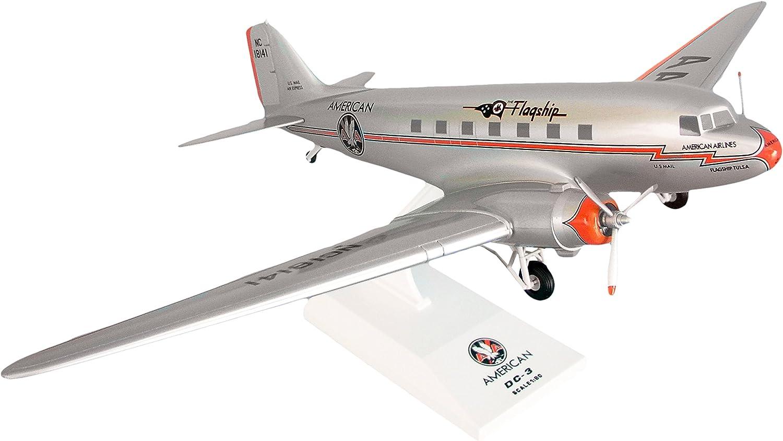 soporte minorista mayorista Daron Skymarks American Airlines DC-3avión DC-3avión DC-3avión modelo con Gear insignia Tulsa (escala 1 80)  tienda en linea