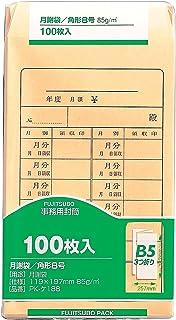 マルアイ クラフト封筒 角8 月謝袋 100枚 85g PK-ケ188