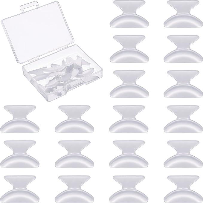 198 opinioni per 10 Paia 1.8 mm Naselli Per Occhiali Da Vista Cuscinetti Anti-scivolo Adesivo