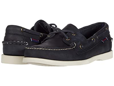 Sebago Portland Crazy Horse (Blue Navy) Men