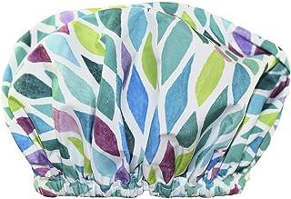 Betty Dain Trendy Turban Comfort Fit Shower Cap, Aqua Stones