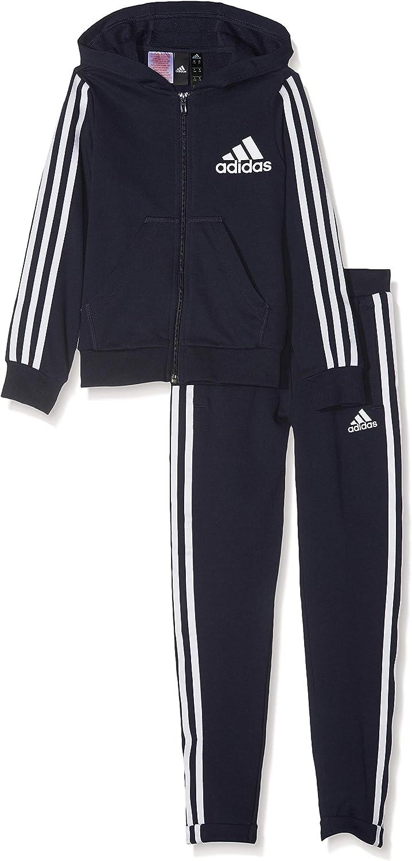 Adidas Mdchen Yg Hood Cot Tracksuit