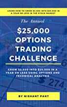 $25K Options Trading Challenge: The fastest way to grow $2,500 into $25,000 in a year using Options Trading and Technical Analysis