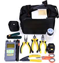 Genneric 25 in 1 Fiber Welding Fiber Tool Kit Skl-6c Fiber Cleaver Power Meter Cable Tester Stripping Tool