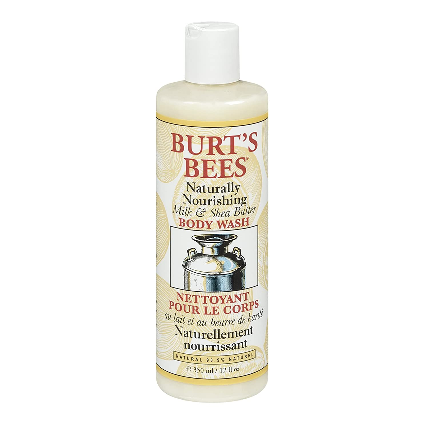 ラッププロットうっかりBurt's Bees Milk and Shea Butter Body Wash 350ml