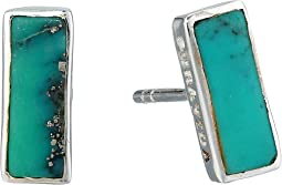 925 Sterling Silver/Genuine Turquois