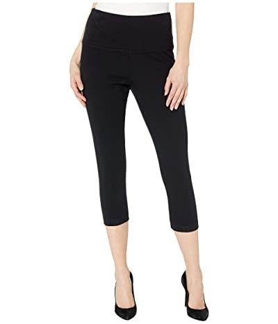 Lysse Perfect Denim Capri 6173C (Black) Women