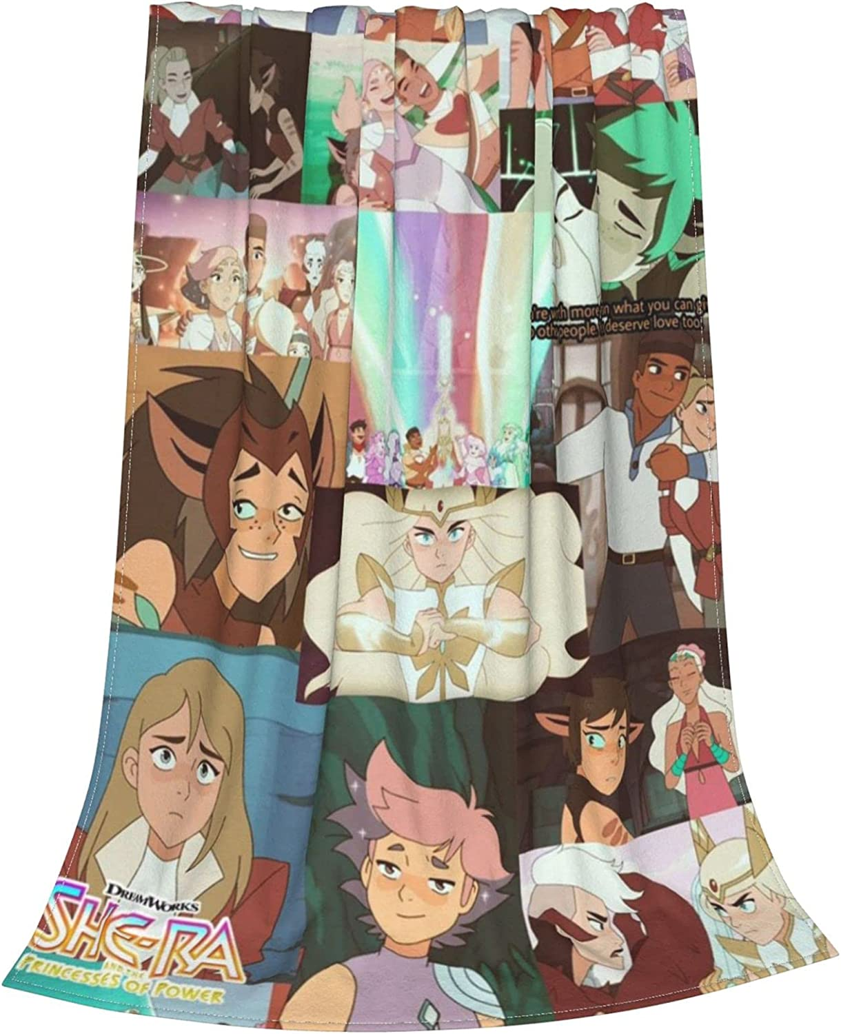THEFUNMAKE Cozy Flannel Blanket Po-wer Max 57% OFF Fleece OFFicial shop She-Ra-Princess of
