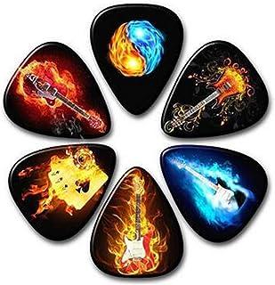 HUNDUN 12 Pack Colorful Guitar Picks Unique Guitar Gift...
