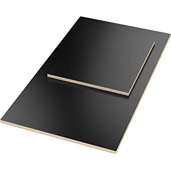 AUPROTEC Multiplexplatte 27mm rechteckig 1900 mm x 500 mm Holzplatten von 40cm-200cm ausw/ählbar Ecken Radius 100mm Sperrholz-Platten Birke Massiv Multiplex Holz Industriequalit/ät z.B als Tisch-Platte