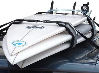 Surfboard Soft Rack LOCKDOWN Premium Surfboard Car Racks by Curve (set of 2)