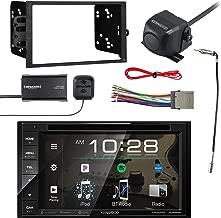 Kenwood Multimedia Receiver, BT w/Sirius Vehicle Radio Tuner, Kenwood Rearview Wide Angle View Backup Camera, Metra 2-DIN Installation Kit for Radio, Metra Antenna Adapter & Metra Radio Wiring Harness
