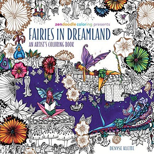 Top fairies in dreamland coloring book for 2020