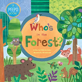 Barefoot Books Who's in the Forest? Large Board Book, Multi (9781846864766)