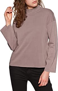 Brixton Anne L/s Mock Neck Tee Womens Sweater