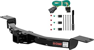 CURT 99313 Class 3 Trailer Hitch, 2-Inch Receiver, 4-Pin Wiring Harness Select Buick Enclave, Chevy Traverse, GMC Acadia, Saturn Outlook