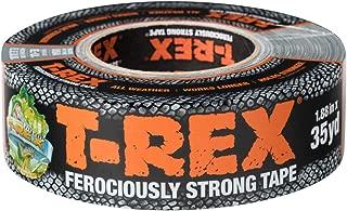 T-Rex Ferociously Strong Duct Tape, 1.88 in. x 35 yd, 1 Roll, Dark Gunmetal Gray (240998), 35 Yards