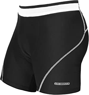 INBIKE Cycling Underwear, 3D Padded Bicycle Shorts for Men with Bold Anti-Slip Waistband