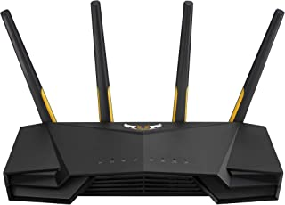 ASUS Dual Band Wi-Fi 6 Gaming Router, Black, TUF-AX3000
