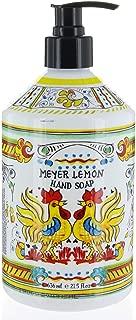 Italian Deruta Hand Soap, Meyer Lemon, 21.5 FL OZ By Home & Body Company