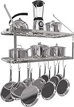Best double shelf pot rack Reviews