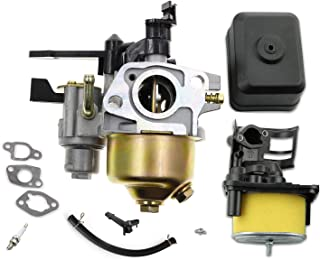 LEIMO GX200 Carburetor with Air Filter Housing + air Filter Assembly for Honda GX160 5.5 HP GX200 6.5 HP Engine