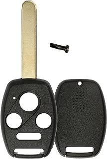 KeylessOption Just the Case Keyless Entry Remote Head Key Combo Fob Shell