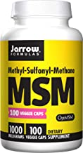 Jarrow Formulas MSM Sulfur, for Beauty and Joint Health, 1000 mg, 100 Veggie Caps