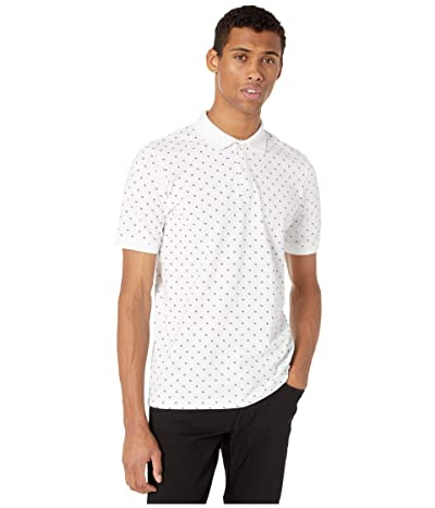 Scotch & Soda All Over Printed Polo in Stretch Pique Quality (Combo B) Men